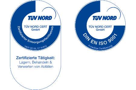 Zertifizierter Entsorgungsfachbetrieb